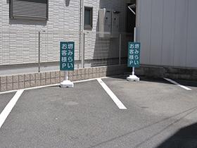 税理士事務所の駐車場